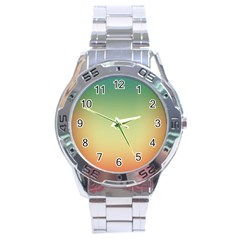 Smooth Gaussian Stainless Steel Analogue Watch