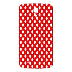 Red Circular Pattern Samsung Galaxy Mega I9200 Hardshell Back Case