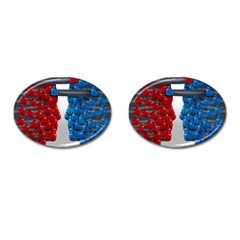 Red Boxing Gloves And A Competing Cufflinks (oval) by AnjaniArt