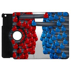 Red Boxing Gloves And A Competing Apple Ipad Mini Flip 360 Case by AnjaniArt