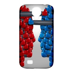 Red Boxing Gloves And A Competing Samsung Galaxy S4 Classic Hardshell Case (pc+silicone) by AnjaniArt