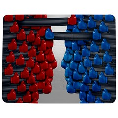 Red Boxing Gloves And A Competing Jigsaw Puzzle Photo Stand (rectangular) by AnjaniArt