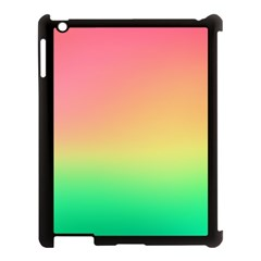 The Walls Pink Green Yellow Apple Ipad 3/4 Case (black)
