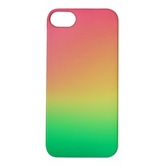 The Walls Pink Green Yellow Apple Iphone 5s/ Se Hardshell Case by AnjaniArt