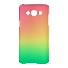 The Walls Pink Green Yellow Samsung Galaxy A5 Hardshell Case