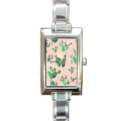 Thorn Rectangle Italian Charm Watch by AnjaniArt