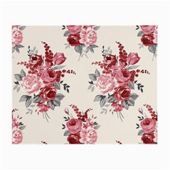 Rose Beauty Flora Small Glasses Cloth (2 Side) by AnjaniArt