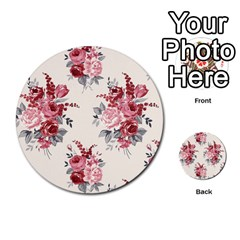 Rose Beauty Flora Multi Purpose Cards (round)  by AnjaniArt