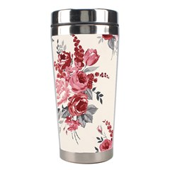 Rose Beauty Flora Stainless Steel Travel Tumblers