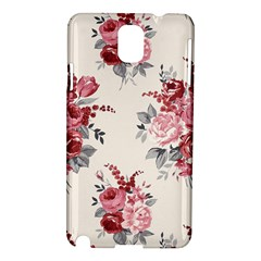 Rose Beauty Flora Samsung Galaxy Note 3 N9005 Hardshell Case by AnjaniArt