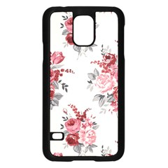 Rose Beauty Flora Samsung Galaxy S5 Case (black) by AnjaniArt