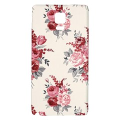 Rose Beauty Flora Galaxy Note 4 Back Case by AnjaniArt