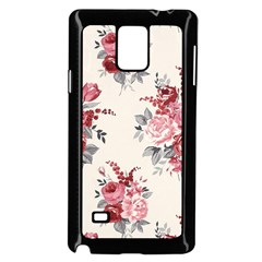 Rose Beauty Flora Samsung Galaxy Note 4 Case (black) by AnjaniArt