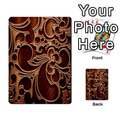 Tekstura Twigs Chocolate Color Multi Purpose Cards (rectangle)  by AnjaniArt