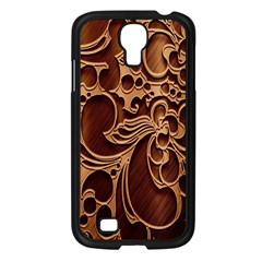Tekstura Twigs Chocolate Color Samsung Galaxy S4 I9500/ I9505 Case (black)