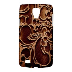 Tekstura Twigs Chocolate Color Galaxy S4 Active by AnjaniArt