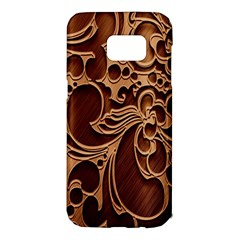 Tekstura Twigs Chocolate Color Samsung Galaxy S7 Edge Hardshell Case