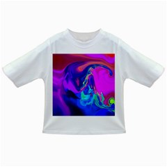 The Perfect Wave Pink Blue Red Cyan Infant/toddler T Shirts by EDDArt
