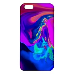 The Perfect Wave Pink Blue Red Cyan Iphone 6 Plus/6s Plus Tpu Case by EDDArt