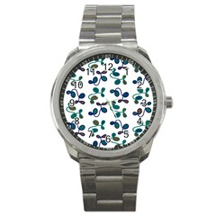 Green Garden Sport Metal Watch by Valentinaart