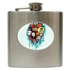 Should You Need Us 2 0 Hip Flask (6 Oz) by lvbart