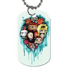Should You Need Us 2 0 Dog Tag (two Sides) by lvbart
