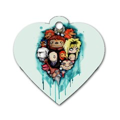 Should You Need Us 2 0 Dog Tag Heart (one Side) by lvbart
