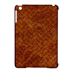 Brick2 Black Marble & Brown Marble Apple Ipad Mini Hardshell Case (compatible With Smart Cover) by trendistuff