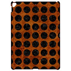 Circles1 Black Marble & Brown Marble (r) Apple Ipad Pro 12 9   Hardshell Case by trendistuff