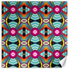 Targets Pattern                                                                                                                			canvas 12  X 12  by LalyLauraFLM