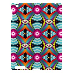 Targets Pattern                                                                                                               			apple Ipad 3/4 Hardshell Case by LalyLauraFLM