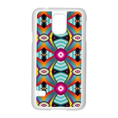 Targets Pattern                                                                                                               			samsung Galaxy S5 Case (white) by LalyLauraFLM