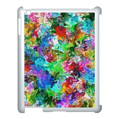 Colorful Strokes                                                                                                               			apple Ipad 3/4 Case (white) by LalyLauraFLM