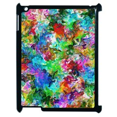 Colorful Strokes                                                                                                               			apple Ipad 2 Case (black) by LalyLauraFLM