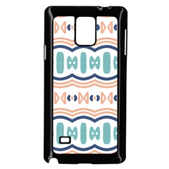 Shapes And Waves                                                                                                                 			samsung Galaxy Note 4 Case (black) by LalyLauraFLM