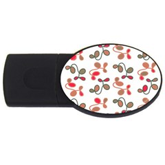 Simple Garden Usb Flash Drive Oval (2 Gb)  by Valentinaart