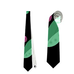 Space Garden Neckties (one Side)  by Valentinaart