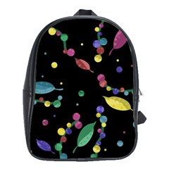 Space Garden School Bags (xl)  by Valentinaart