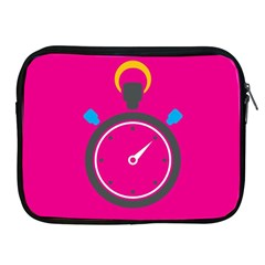 Alarm Clock Houre Apple Ipad 2/3/4 Zipper Cases