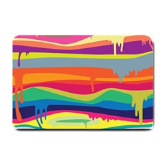 Colorfull Rainbow Small Doormat  by AnjaniArt