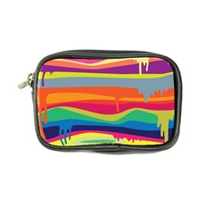 Colorfull Rainbow Coin Purse by AnjaniArt
