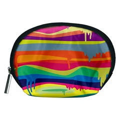 Colorfull Rainbow Accessory Pouches (medium)
