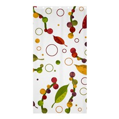Adorable Floral Design Shower Curtain 36  X 72  (stall)  by Valentinaart