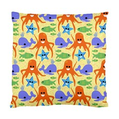 Calamari Squid Whale Standard Cushion Case (one Side)