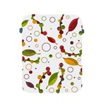 Adorable floral design Apple iPad 2/3/4 Protective Soft Cases Front