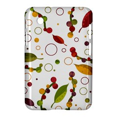 Adorable Floral Design Samsung Galaxy Tab 2 (7 ) P3100 Hardshell Case  by Valentinaart