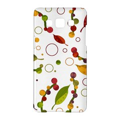 Adorable Floral Design Samsung Galaxy A5 Hardshell Case  by Valentinaart
