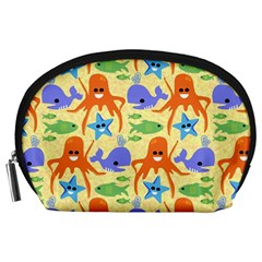 Calamari Squid Whale Accessory Pouches (large)