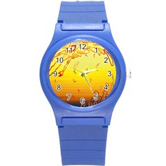 Angel Round Plastic Sport Watch (s)