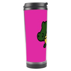 Crocodile Travel Tumbler by AnjaniArt